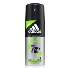 Adidas 6 in 1 Cool&Dry 48h dezodorant spray 150ml.