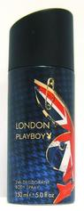 Playboy London dezodorant spray 150ml.