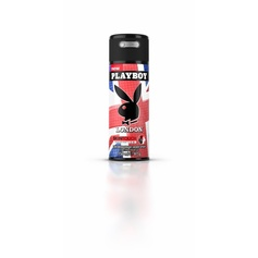 Playboy London Skin Touch dezodorant spray 150ml.