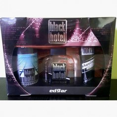 Edgar zestaw Black Hotel deo150ml+A/S100ml+krem do golenia 75ml.
