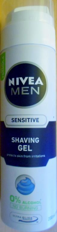 Nivea Men Sensitive żel do golenia 200ml