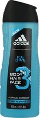 Adidas Ice Dive 3 żel pod przysznic 400ml.