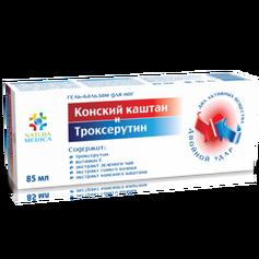 Twins Tec Żel balsam kosmetyczny z KASZTANOWCEM i TROKSERUTYNĄ 85 ml ELX45