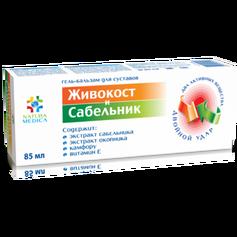 Twins Tec Żel balsam kosmetyczny Żywokost i Sabelnik, 85 ml.ELX49