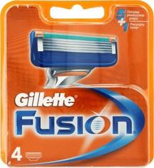 Gillette Fusion wkłady do maszynki 4szt.