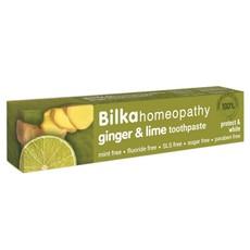 BILKA DENT homeopatyczna Pasta do zębów GINGER & LIME ochrona i wybielenie 75ml OPZ137