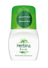 Herbina Biohajoava Roll-On Fresh 24h 50ml.