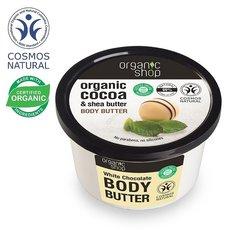 Organic Shop Maslo do ciala biala czekolada wygladzajace 250ml
