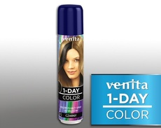 Venita 1-DAY COLOR spray jednodniowy 11 czarny 50ml.