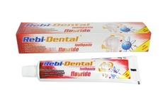 Rebi-Dental Fluoride Pasta do zębów z fluorem na kamień 90g