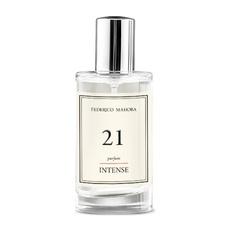 PERFUMY FM 21 HOT Intense ciepły otulający zapach róży zapach! 50ml