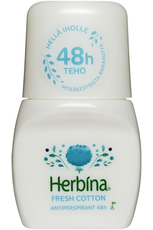Herbina Fresh Cotton Roll-On antyperspirant 50ml.