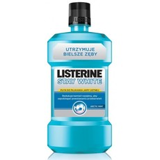 LISTERINE STAY WHITE Płyn do płukania jamy ustnej 250ml.