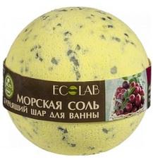 Ecolab Kula musująca do kąpieli naturalna MORSKA soda oczyszczona 220g