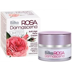 BILKA krem do twarzy Anti-Age ROSA DAMASCENA 40 ml OPZ119