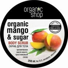 Organic Shop ORGANICZNY scrub do ciała KENIJSKIE MANGO 250ml