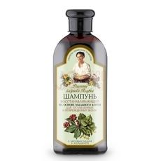 Bania Agafii szampon regeneracyjny do osłabionych i zniszczonych włosów mydlnica lekarska żeń szeń lipowy miód 350 ml.