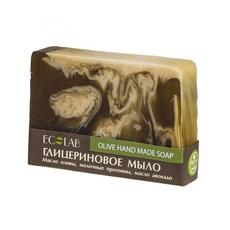 Ecolab Naturalne mydło glicerynowe ręcznie robione Oliwkowe 130g