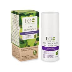 Ecolab BIO dezodorant odświeżający organiczny ekstrakt miłorzębu japońskiego ekstrakt bambusa 50g
