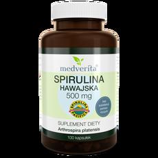 Medverita Spirulina hawajska Pacifica® 500 mg 100 kapsułek