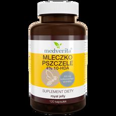 Medverita Mleczko pszczele 4% 10-HDA - 120 kapsułek
