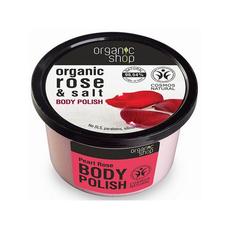 Organic Shop peeling do ciała PERŁOWA RÓŻA 250ml.