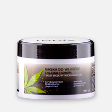 India Maska do włosów z olejem z konopi 200ml