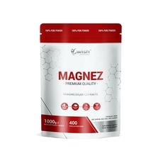 Wish Magnez w Proszku Cytrynian Magnezu 1kg Produkt Vege
