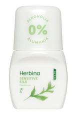 Herbina Antyperspirant Roll-On Sensitive Silk 50ml