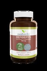 Medverita Berberys ekstrakt z korzenia 400 mg - 120 kapsułek