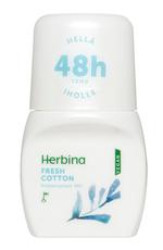 Herbina Antyperspirant Roll-On Fresh Cotton 48h 50ml