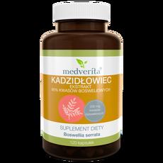 Medverita Kadzidłowiec Boswellia serrata 65% kwasów bosweliowych - 120 kapsułek