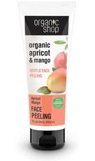 Organic Shop Delikatny Peeling do twarzy Morela i Mango 75ML.