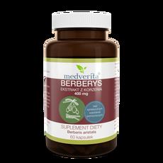 Medverita Berberys ekstrakt z korzenia 400 mg - 60 kapsułek