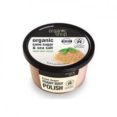 Organic Shop scrub do ciała CUKIER TRZCINOWY 250ml