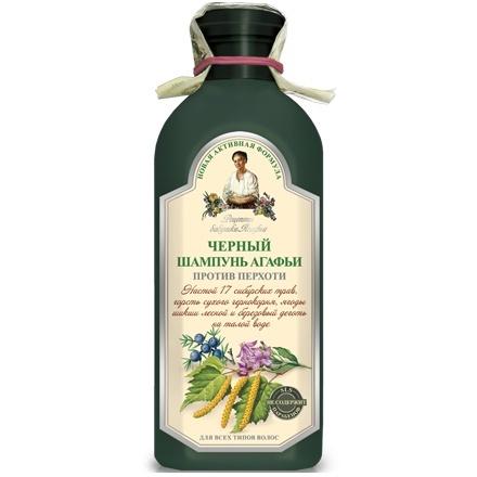BANIA AGAFII Szampon ziołowy czarny przeciwłupieżowy 350ml.