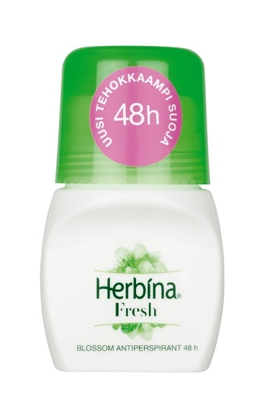 Herbina BLossom Fresh Roll-On 24h antyperspirant 50ml.