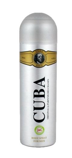 Cuba Gold dezodorant 200ml.