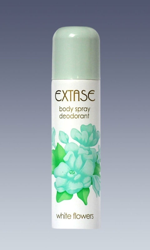 Extase White Flowers dezodorant spray 150ml.