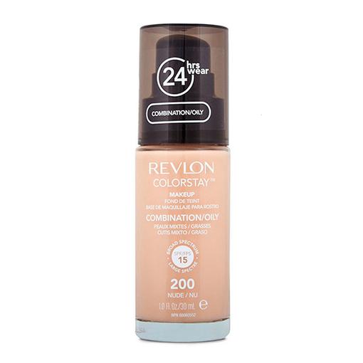 Revlon Colorstay podkład do cery tłustej i mieszanej 200 Nude (1)